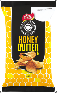 Real Snacks Chips Honig-Butter, 120 g